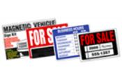 GARVEY SIGN KITS/PRINTED PLASTIC SIGNS